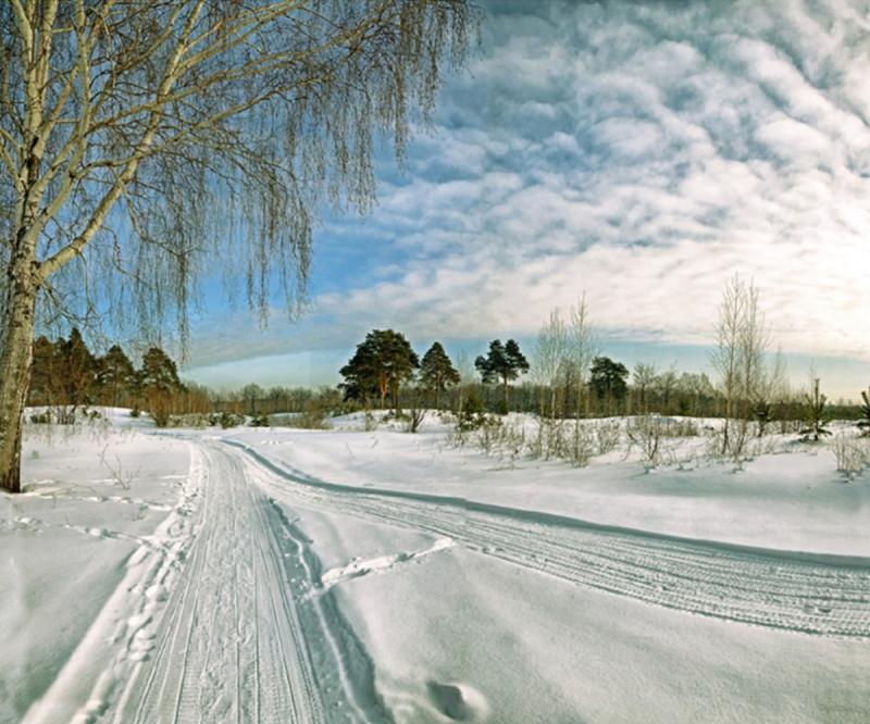 Зимний день