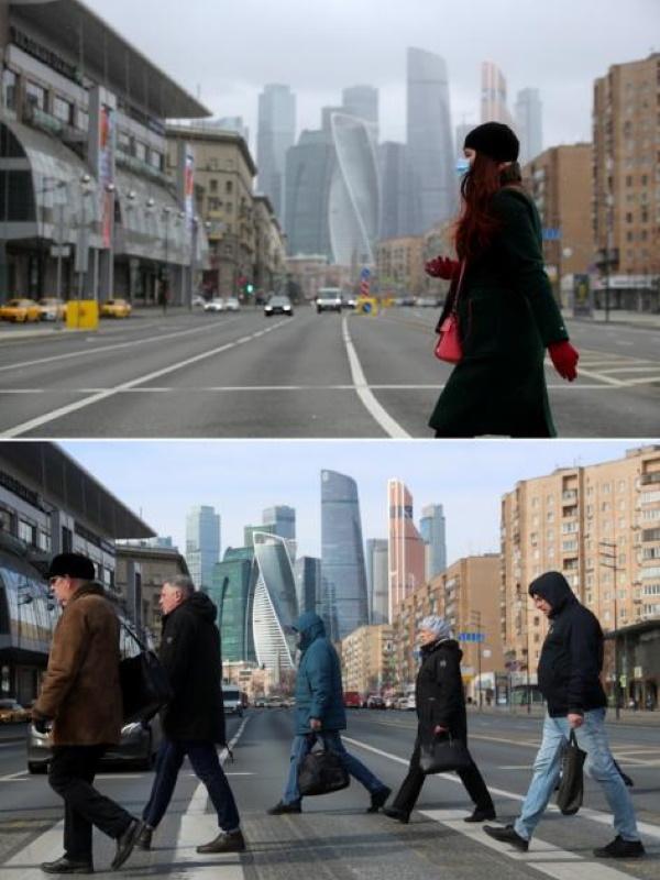 Пешеходный переход на Большой Дорогомиловской улице