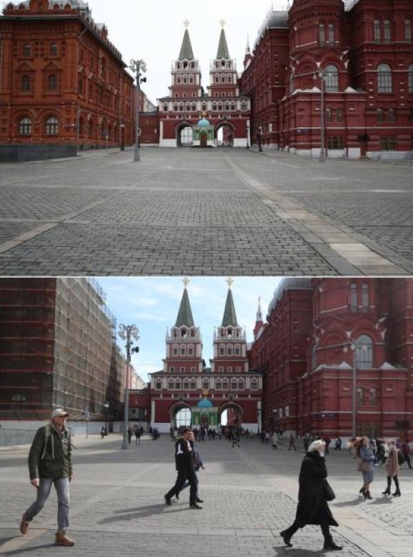 Вид на Кремлевский проезд