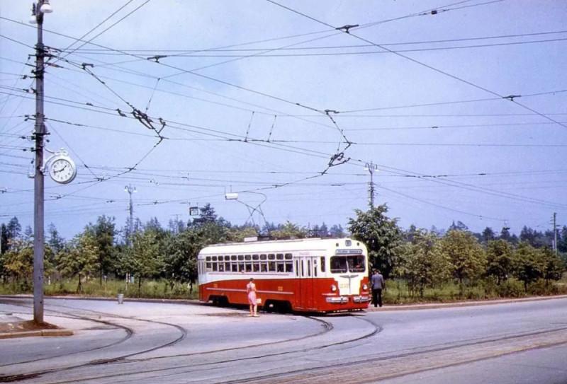 Трамвайное кольцо на 16-й Парковой