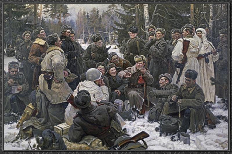 """Юрий Непринцев """"Отдых после боя"""""""