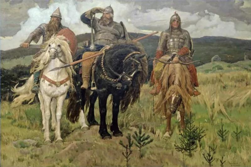В. М. Васнецов «Богатыри», 1898