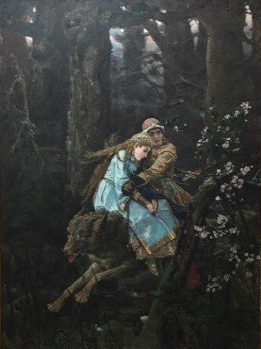 Васнецов В.М. «Иван-царевич на Сером Волке»