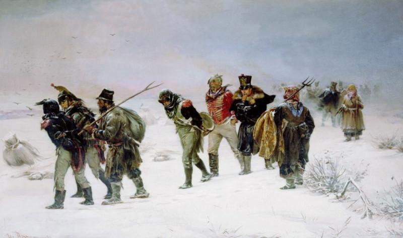 И.М. Прянишников «Эпизод из войны 1812 года», 1874