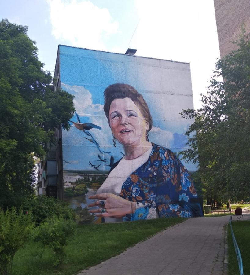В Щёлково, на пересечении улиц Талсинская и Сиреневая.