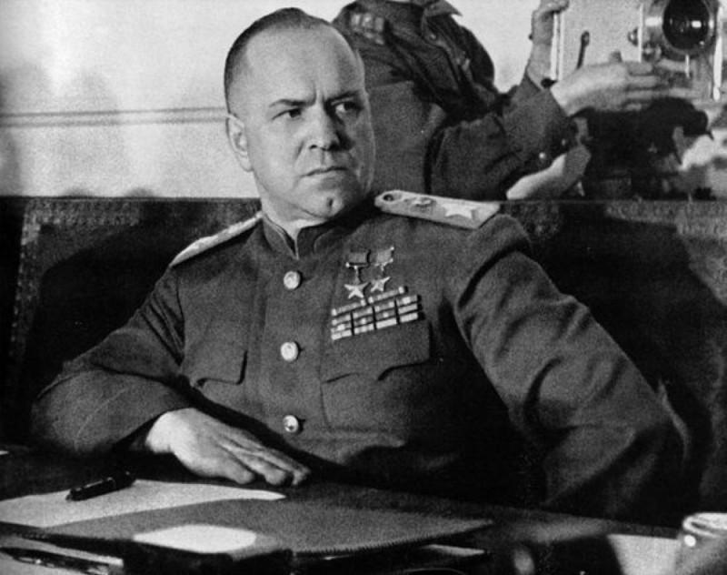 Г.К.Жуков в Берлине, май 1945г.