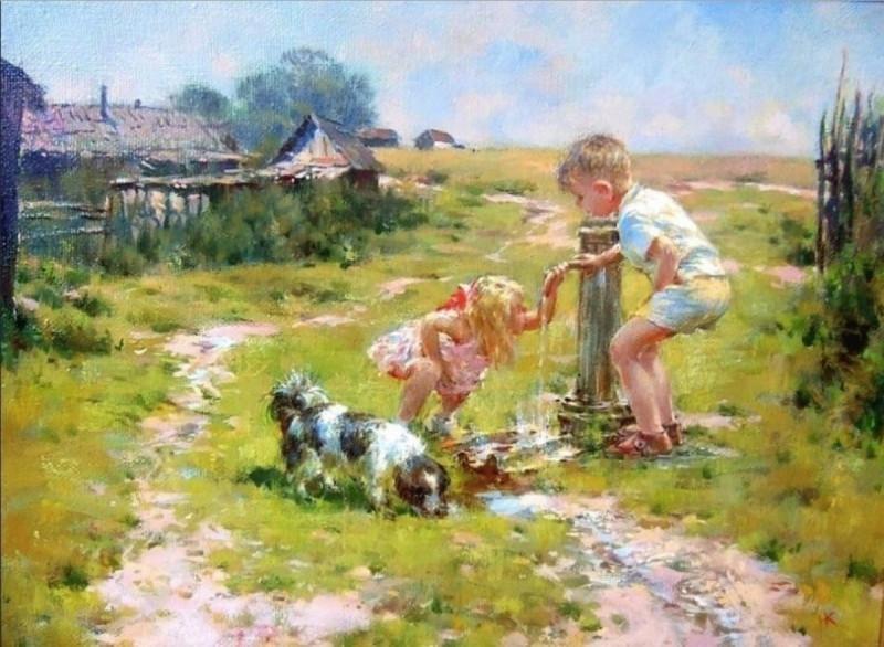 Художник Николай Козленко