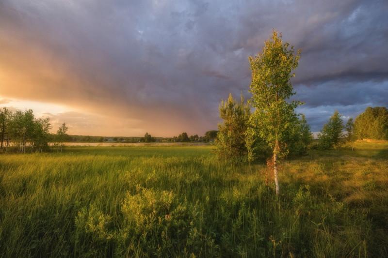 Утро. Фото вятского фотографа Михаила Устюжанина