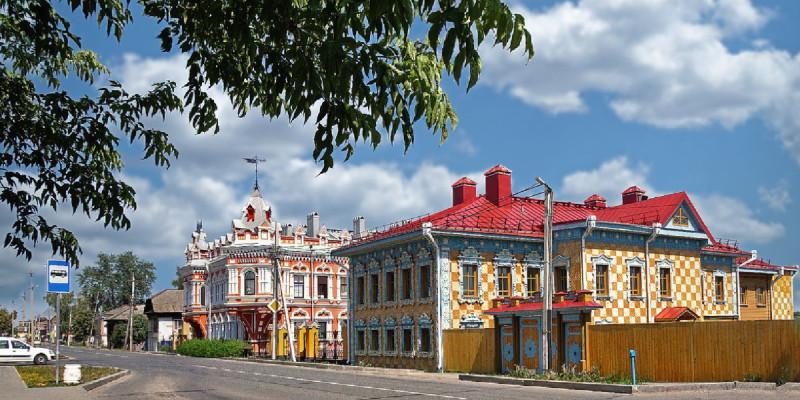 29 июня 2021 г., дома купца Павла Башенина, фото Николая Глухова