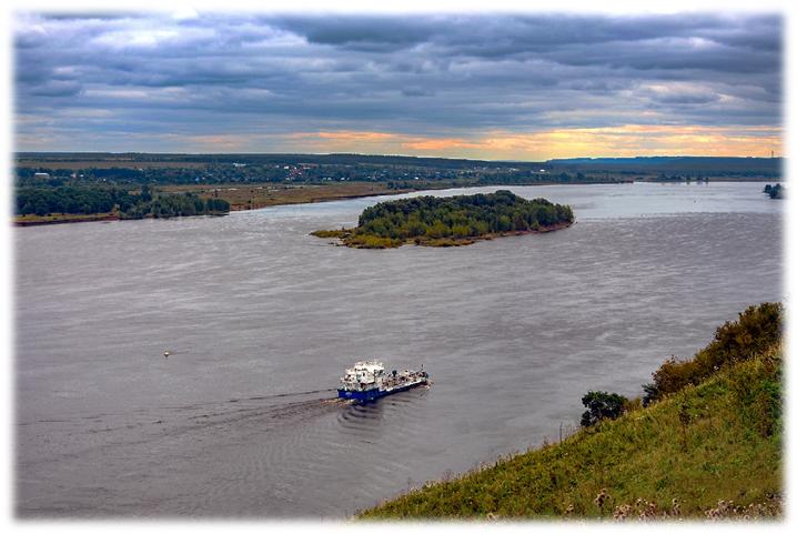 Река Кама, фото Сергея Килина