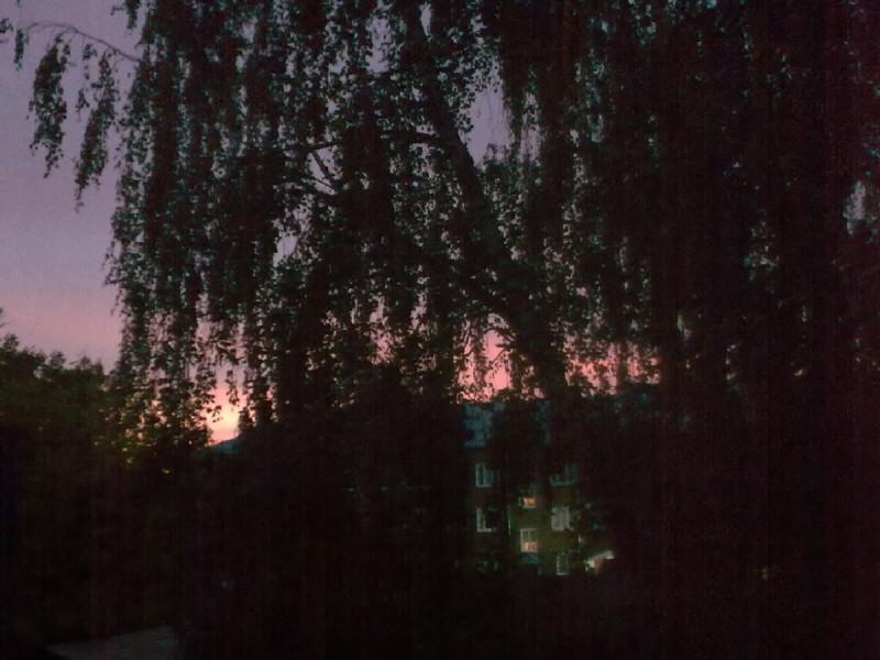24 сентября 2021г., 5:53. Фото из окна