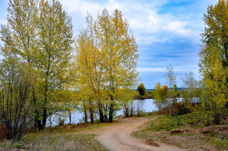 Камская осень 2021г., фото Сергея Килина