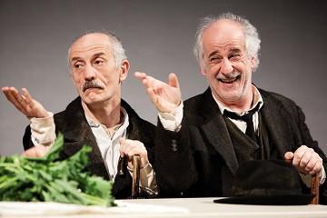 Inner voices. Peppe Servillo and Toni Servillo. Photo by Fabio Esposito