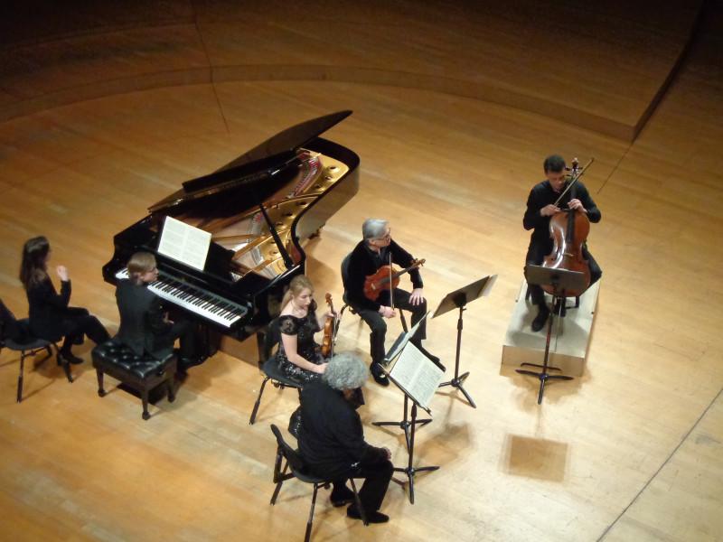 Квинтет Дворжака: две скрикпи, альт, виолончель