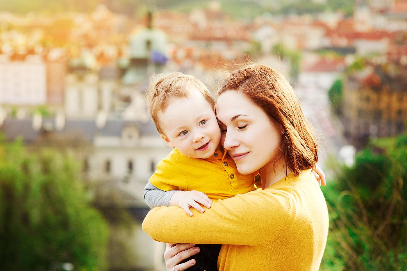 Семейная фотосессия в Праге
