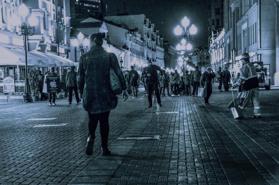 Арбатская прогулка в Чёрно Белых тонах 24 - 9 -  2017 Воскресенье !!! (2 of 36).jpg