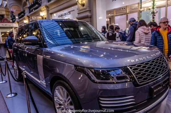 Lend Rover в ГУМе