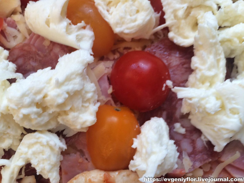 Пицца по домашнему с сыром Моцарелла ...Новая папка1477.JPG
