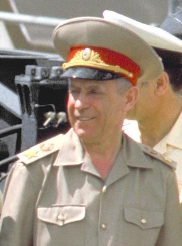 Сергей Фёдорович Ахромеев_1988