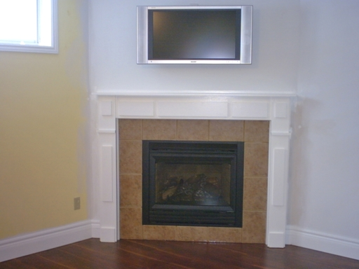 building specs related to gas fireplaces and how high a mantle has