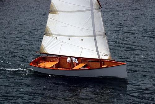 Goat Island Skiff Sailing pretty pic