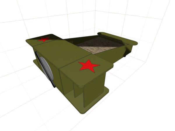 столик-тумбочка_самолет_концепт_Soviet
