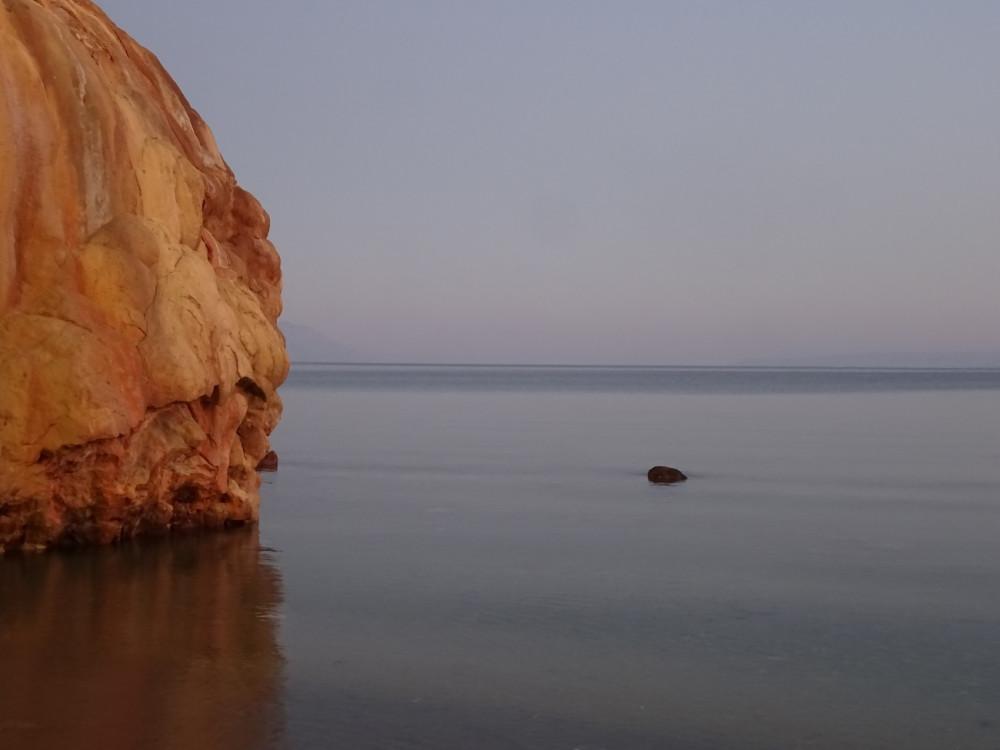 морское зеркало, остров Эвия