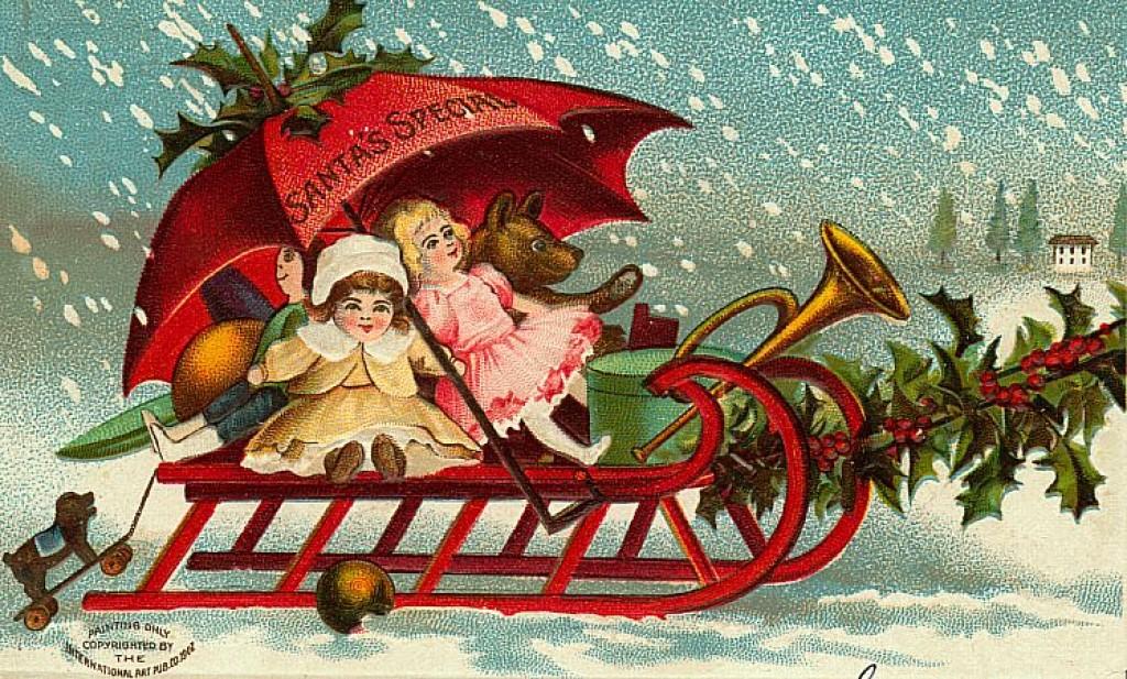 Подарки к рождеству открытки