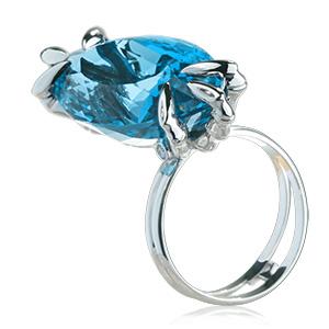 Топаз London blue. www.evora.ru