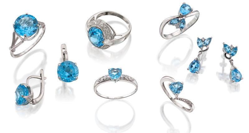Топаз Swiss Blue. www.evora.ru