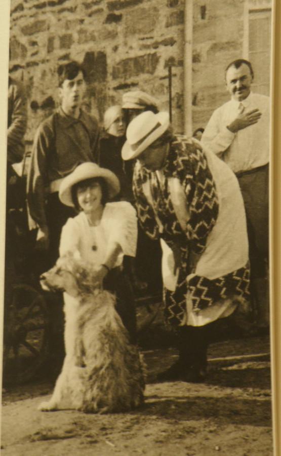 Марина с собакой