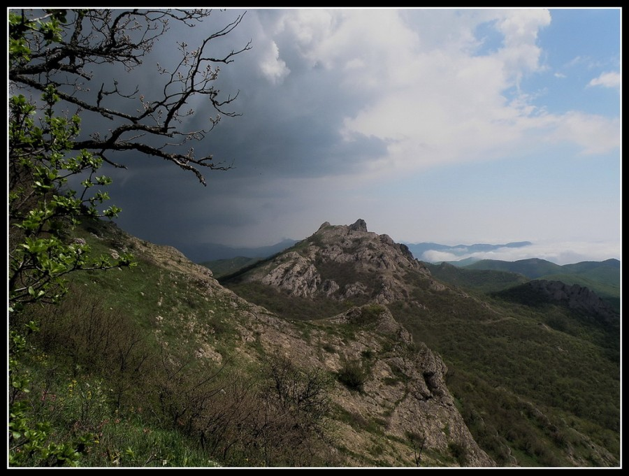 моё сердце в горах