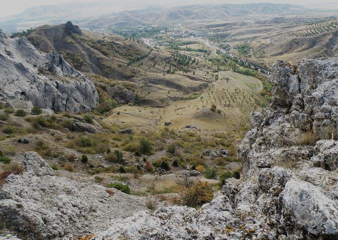 взгляд на долину