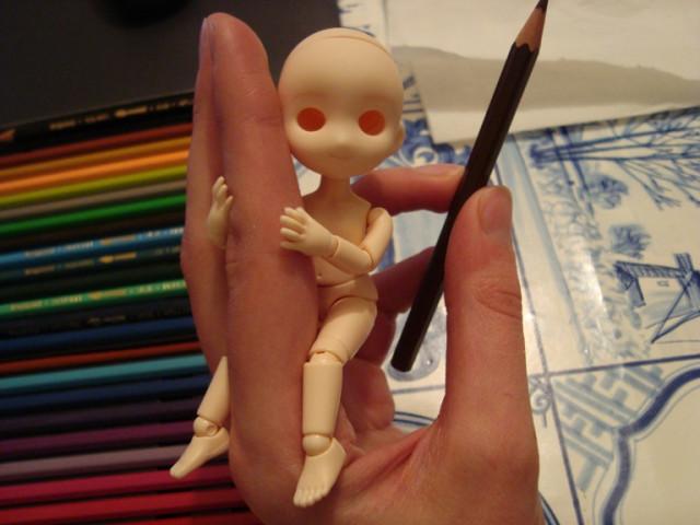 Meet Rosie, my 11cm Obitsu with Parabox Muffin head! - Ev\'s Dolls