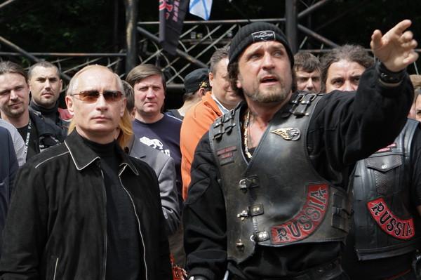 Путин и байкеры
