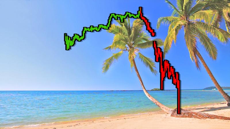 Окончание тренда ... Далее 93% падение