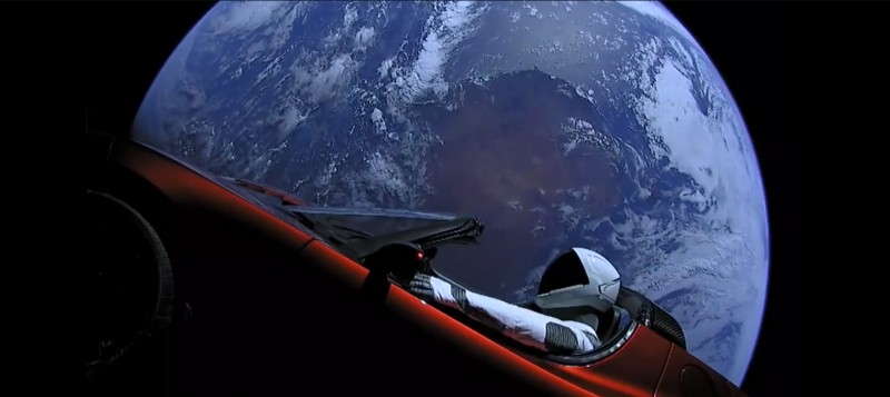 Спутниковая Тесла