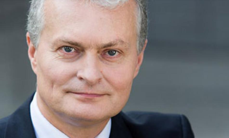 Десятый президент Литовской Республики Гитанас Науседа.