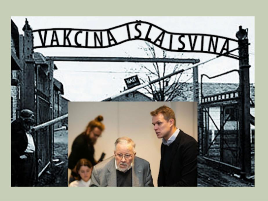 Те кто сегодня Литву превратил в лагерь «Освенцим».