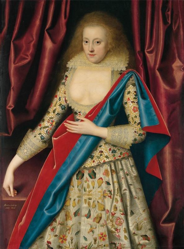 Изабелла Рич, миссис Роджерс, позже леди Смит. с. 1614-18