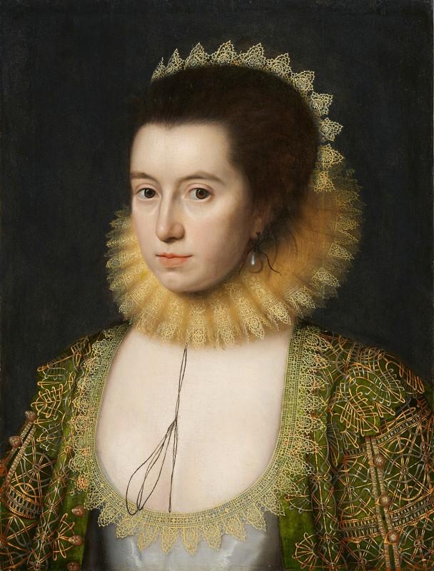 портрет леди Энн Клиффорд, графини Дорсет 1618