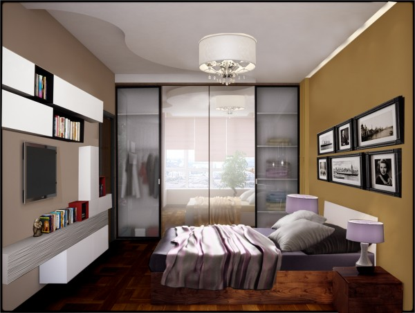 корректировка спальни