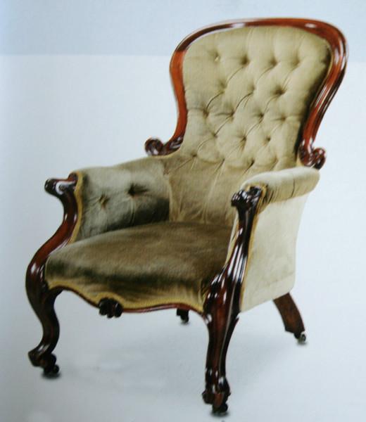 викторианское кресло
