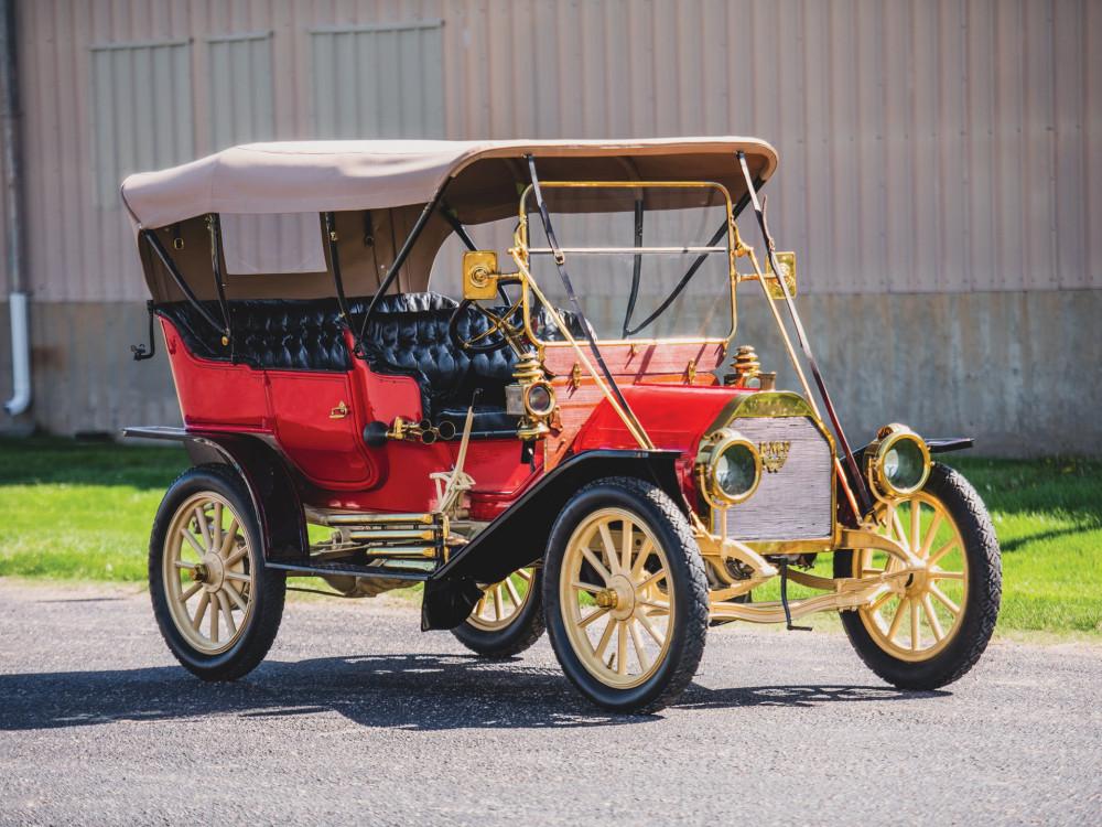 E-M-F Model 30 Touring 1912 года