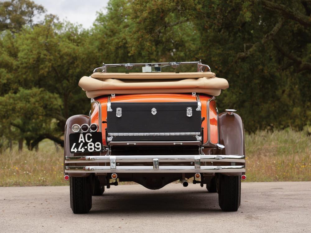 Pierce-Arrow Model B125 Roadster 1931 года долларов, Рядный, Колесная, 150200, оценивается, раритета, такого, стоимость, скорость, восьмицилиндровый, Максимальная, обмин, мощность, развивал, литров, объемом, двигатель, тысяч