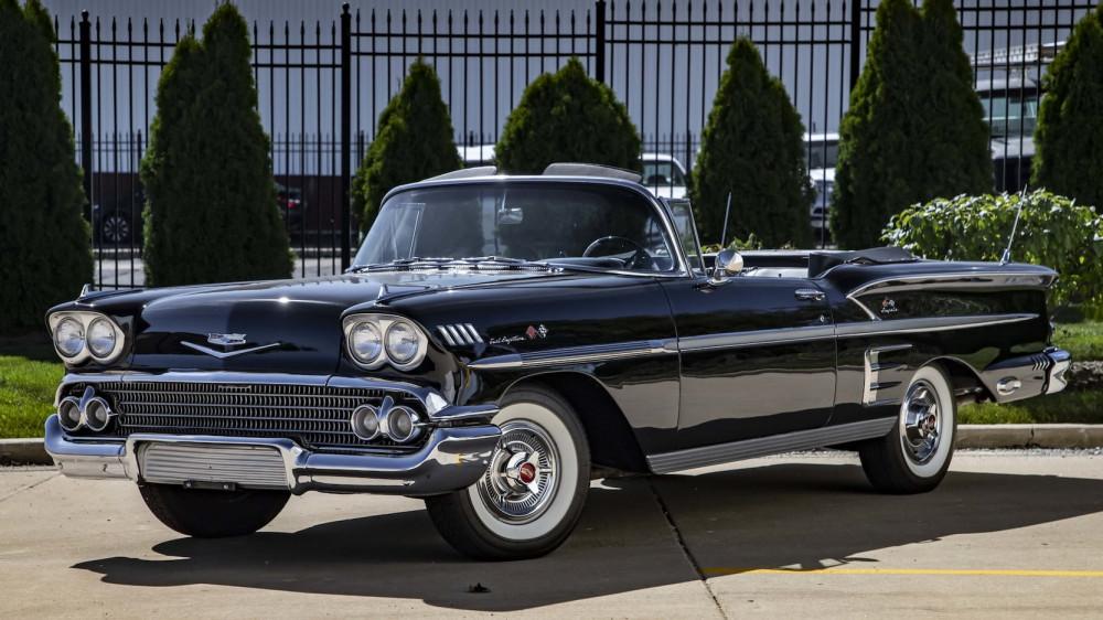 Chevrolet Impala 1958 года.