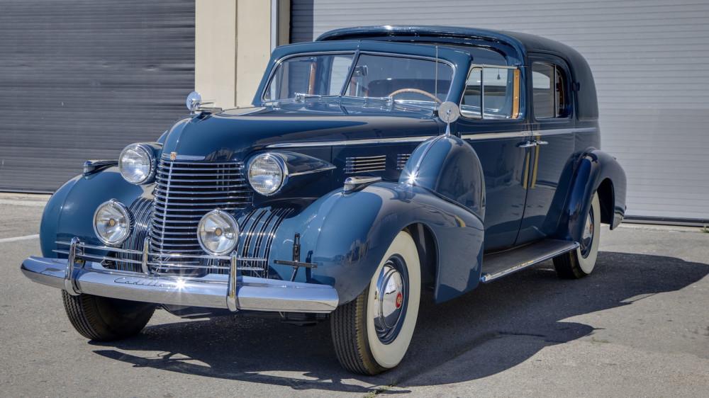 Cadillac Series 75 Fleetwood Town Car 1940 года