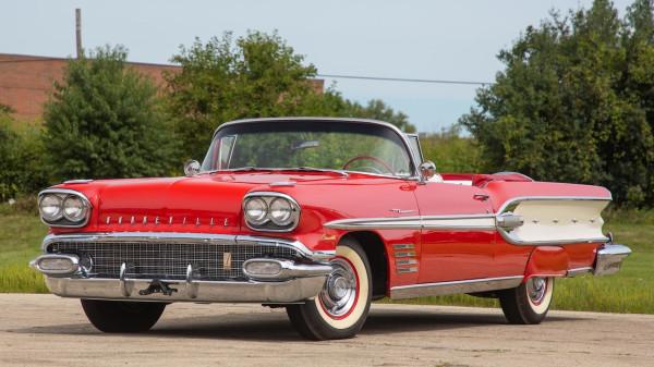 Pontiac Bonneville Convertible 1958 года.