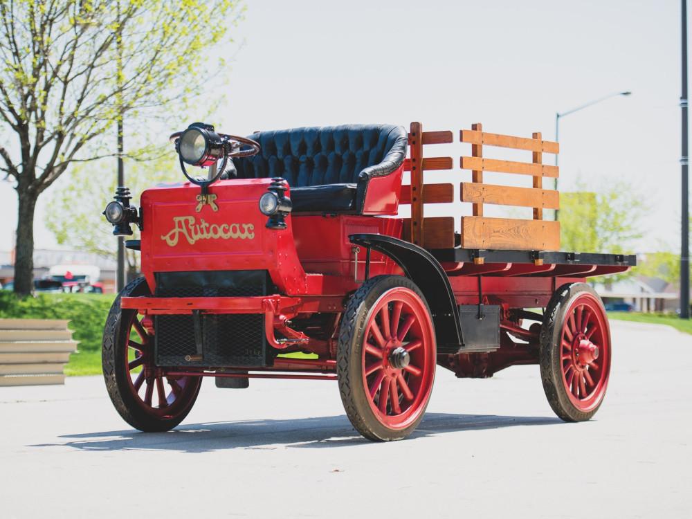 Грузовик Autocar Type XXI 1910 года