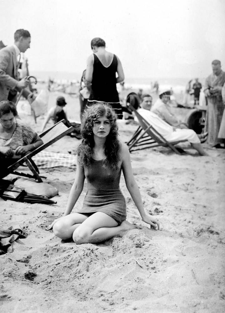 Красавица на пляже